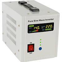 Гибридный инвертор (ИБП/стабилизатор) с чистой синусоидой 800ВА (500Вт) 12В Axioma AXEN.IA-800