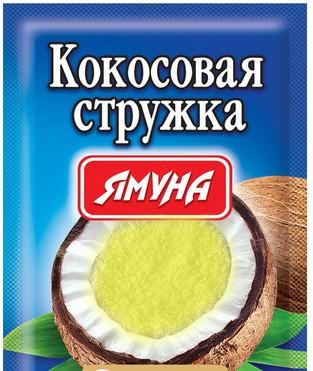 Кокосовая стружка (жёлтая) 25 грамм ТМ Ямуна