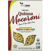 Now Foods, органические макароны из киноа, без глютена, 227 г (8 унций)