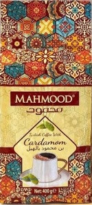 Кофе молотый Турецкий кофе с кардамоном Mahmood  ,400 гр