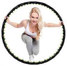 Обруч масажний з магнітами Springos Hula Hoop 100 см FA0096