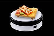 Ø15см/max 15кг Автоматический поворотный стол для предметной съемки 3d фото видеосъемки на 360 FTR-NA150 1188, фото 10