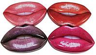 Набор KYLIE в виде губ   Подарочный набор декоративной косметики   Набор помад Кайли