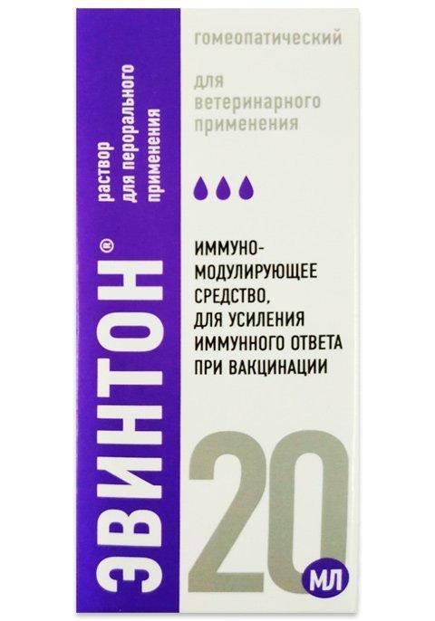 Эвинтон раствор для перорального применения, 20 мл, Хелвет