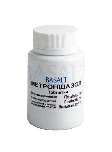 Метронидазол таблетки №100, Базальт