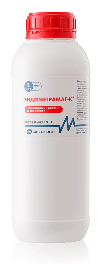 Эндометрамаг-К, 1 л, Мосагроген