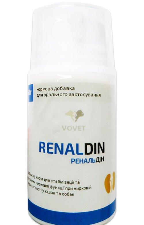 Ренальдин паста для кошек и собак с хронической почечной недостаточностью, 60 г, Вовет