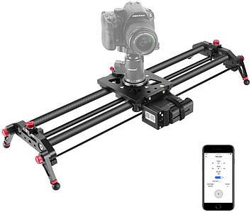 Слайдер моторизированный для камер CAM-100 от Visico - 100 см (карбоновый)
