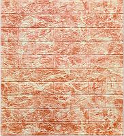 3Д панелі декоративні самоклеючі для стін під мармур Темно-червоний