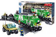 Конструктор Kazi 98225 Пассажирский поезд 890 детали