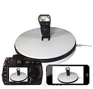 Ø35см/max 30кг Автоматический поворотный стол для предметной съемки 3d фото видеосъемки на 360 FTR-SNA350-1197, фото 8