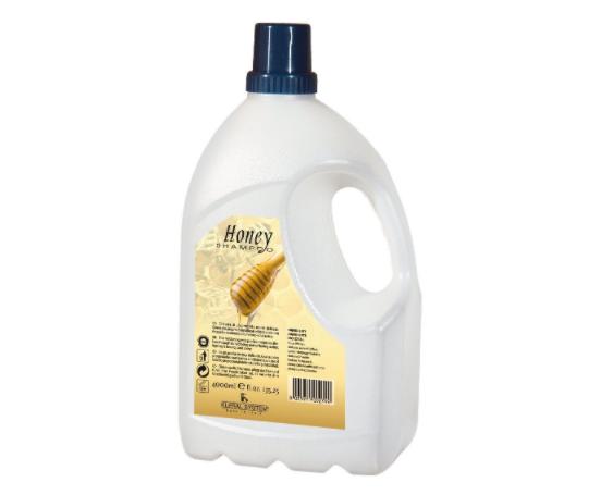 Шампунь для волос с экстрактом меда HONEY SHAMPOO Kleral System 4000 мл