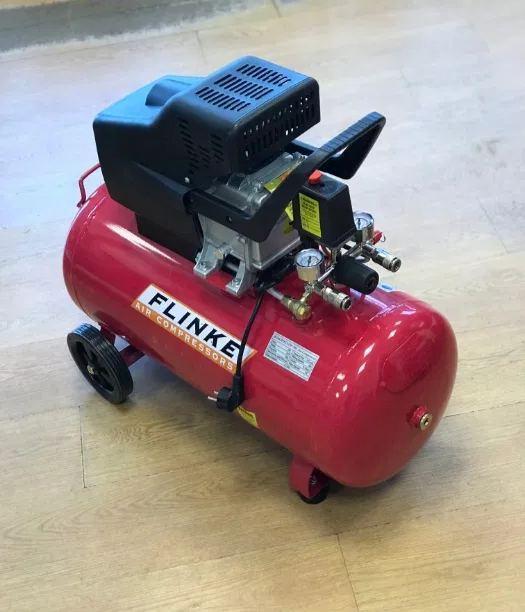 Компрессор Flinke 400 л/мин 100 литров 2-х поршневой