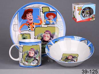 Дитячий набір посуду Історія іграшок 3пр