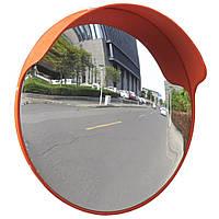 Дорожнє сферичне дзеркало діам 80 см