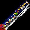 Бенгальські вогні БС-6, довжина: 60 см, в упаковці 3 шт., час горіння: 2 хвилини