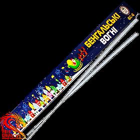 Бенгальские огни БС-6, длина: 60 см, в упаковке 3 шт., время горения: 2 минуты