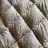 "Одеяло полуторное на холлофайбере ""ODA"" 155*210 см | Тепла ковдра, наповнювач холлофайбер. Стеганое одеяло ОДА, фото 2"