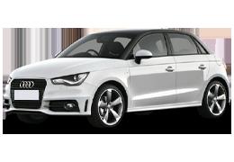 Дефлекторы на боковые стекла (Ветровики) для Audi (Ауди) A1 2010-2018