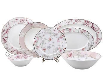 Набор фарфоровой посуды Лефард Мишель 23пр