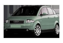 Дефлекторы на боковые стекла (Ветровики) для Audi (Ауди) A2 1999-2005