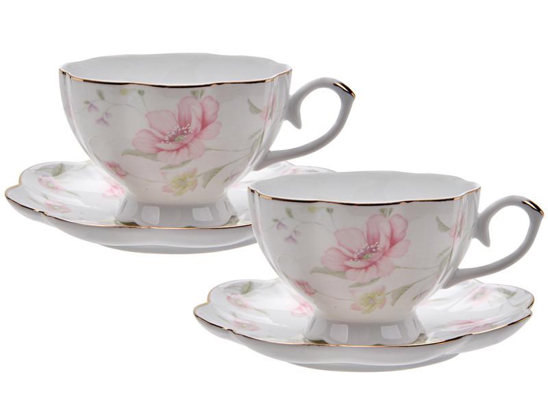 Чайный набор Лаура 200мл 4пр