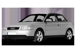 Дефлекторы на боковые стекла (Ветровики) для Audi (Ауди) A3 8L 1996-2003