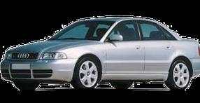 Дефлекторы на боковые стекла (Ветровики) для Audi (Ауди) A4 (B5) 1994-2001