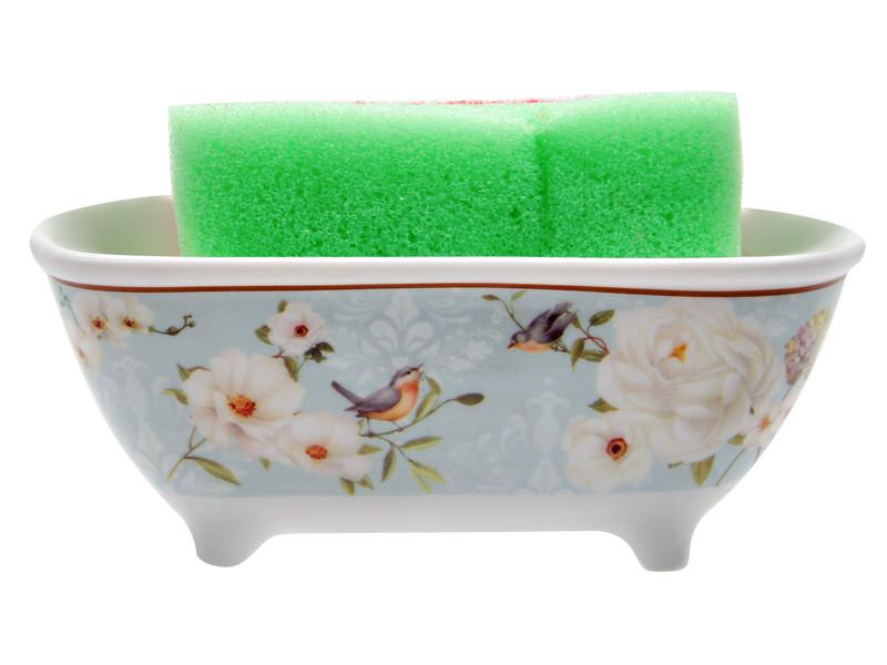 Ванночка для губки Райский сад 13.5см