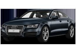 Дефлекторы на боковые стекла (Ветровики) для Audi (Ауди) A7 I 2010-2014