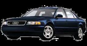 Дефлекторы на боковые стекла (Ветровики) для Audi (Ауди) A8/S8 D2 1994-2002
