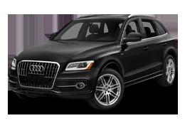 Дефлекторы на боковые стекла (Ветровики) для Audi (Ауди) Q5 (R8) 2008-2017