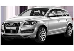 Дефлекторы на боковые стекла (Ветровики) для Audi (Ауди) Q7 (4L) 2005-2015