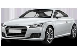 Дефлекторы на боковые стекла (Ветровики) для Audi (Ауди) TT (8J) 2006-2014