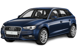 Дефлекторы на боковые стекла (Ветровики) для Audi (Ауди) A3 8P 2003-2012