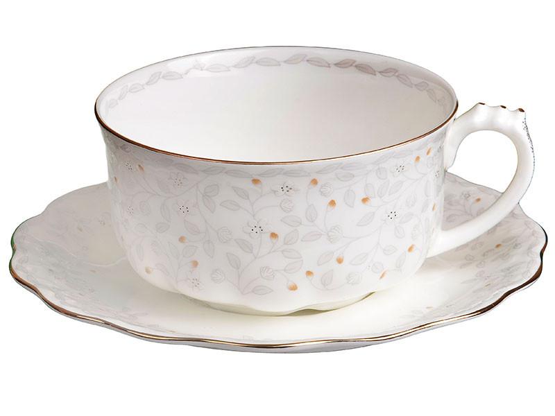Чашка с блюдцем вивьен Lefard 400мл 2пр