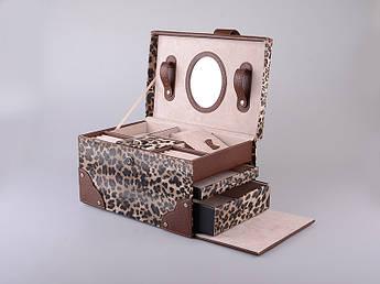 Шкатулка для прикрас леопард Lefard 30х20х20см