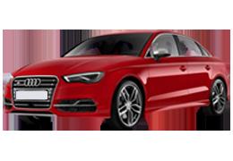Дефлекторы на боковые стекла (Ветровики) для Audi (Ауди) A3 8V 2012+