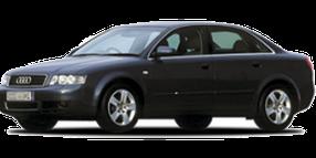 Дефлекторы на боковые стекла (Ветровики) для Audi (Ауди) A4 (B6) 2001-2004