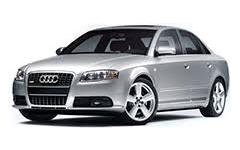 Дефлекторы на боковые стекла (Ветровики) для Audi (Ауди) A4 (B7) 2004-2007