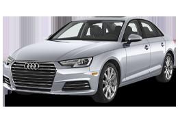 Дефлекторы на боковые стекла (Ветровики) для Audi (Ауди) A4 (B9) 2015+