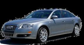 Дефлекторы на боковые стекла (Ветровики) для Audi (Ауди) A6 (C6) 2005-2011