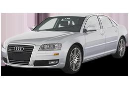 Дефлекторы на боковые стекла (Ветровики) для Audi (Ауди) A8/S8 D3 2002-2010