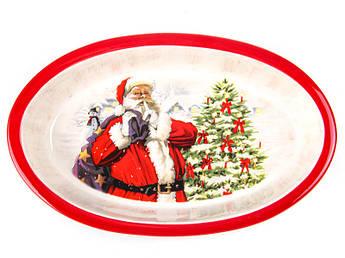 Посуда Новый год блюдо для запекания 28см