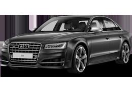 Дефлекторы на боковые стекла (Ветровики) для Audi (Ауди) A8/S8 D4 2010-2017