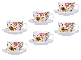 Чайный набор Подсолнух 12пр