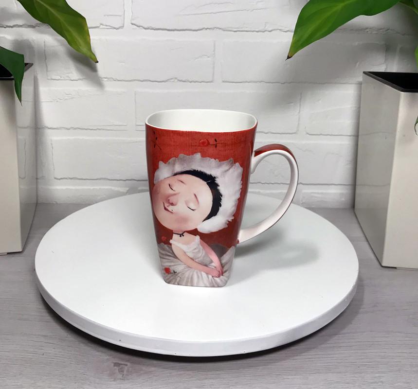 Чашка подарункова Гапчинська Gapchinska колекція Плісецька 600мл