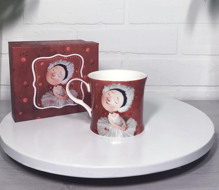 Чашка подарочная Гапчинская Gapchinska коллекции Плисецкая 280мл