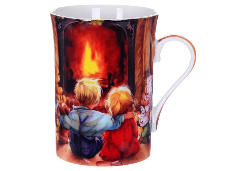 Чашка новорічна подарункова 300мл
