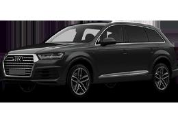 Дефлекторы на боковые стекла (Ветровики) для Audi (Ауди) Q7 (4M) 2015+